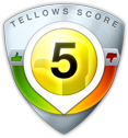 tellows Score 5 zu 7222171417